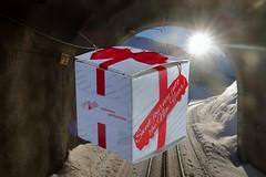 MGB - Sweet journey into the New Year! - 2018 (Kecko) Tags: 2017 kecko switzerland swiss schweiz suisse svizzera innerschweiz zentralschweiz uri tunnel rufenen mgb matterhorngotthardbahn bahn railway railroad oberalp pass oberalppass winter schnee snow happynewyear silvester newyearseve gift geschenk schokolade chocolate swissphoto geotagged geo:lat=46639580 geo:lon=8612940
