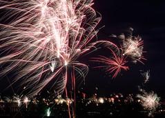 Happy New Year... (Ody on the mount) Tags: anlässe em5ii experimente feuerwerk mzuiko4518 nachtaufnahme omd olympus reutlingen silvester livecomposite