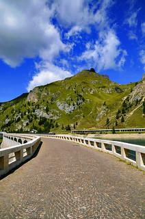Day 32 - Along the Main Fedaia Dam - Porta Vescovo View