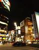 Night in Ginza (DameBoudicca) Tags: tokyo tokio 東京 japan nippon nihon 日本 japón japon giappone ginza 銀座 night natt nacht notte nuit noche 夜 street gata strase calle rue strada 道 traffic car yūrakuchō yurakucho 有楽町
