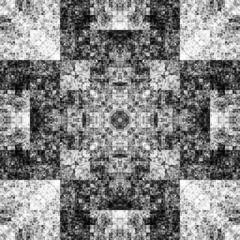 1271452755 (michaelpeditto) Tags: art symmetry carpet tile design geometry computer generated black white pattern