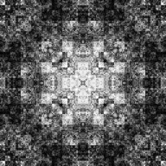 1147057615 (michaelpeditto) Tags: art symmetry carpet tile design geometry computer generated black white pattern