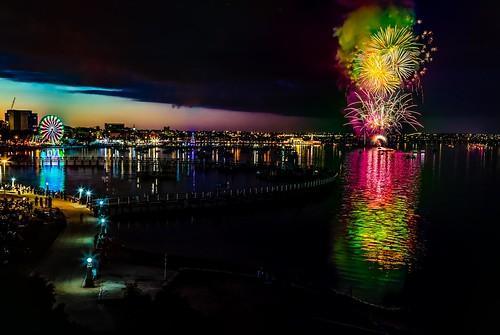 Geelong NYE Fireworks-9