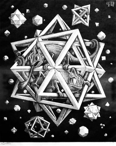 Stars (1948) - Maurits Cornelis Escher (1898 - 1972)