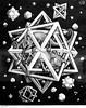 Stars (1948) - Maurits Cornelis Escher (1898 - 1972) (pedrosimoes7) Tags: mauritscornelisescher black white blackwhite blackandwhite theescherfoundationcollection museudeartepopular lisbon portugal creativecommons cc artgalleryandmuseums ✩ecoledesbeauxarts✩
