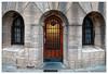 La petite porte (Jean-Marie Lison) Tags: eos80d sigmaart bruxelles koekelberg basiliquedusacrécœur porte fenêtres basiliquedekoekelberg