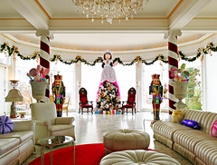 A Nutcracker Christmas (Colorado Sands) Tags: denver colorado usa motherginger nutcracker christmastree decoration decor merrychristmas sandraleidholdt christmas palmroom davidrote room