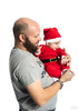 Santa and his dad. (Alex-de-Haas) Tags: 50mm christmashat d5 michaelrosa nikkor nikkor50mm nikon nikond5 percy baby belichting child childphotography dad daddy eerstekind eerstgeborene father firstchild firstson firstborn flash flashphotography hat infant kerst kerstbaby kerstman kerstmis kid muts ouder papa pappa parent santa santaclaus son studio studiolighting studiophotography studiolicht vader white whitebackground wit witteachtergrond zoon