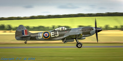 Supermarine Spitfire FR.XIV-7752 (_OKB_) Tags: duxford2016 supermarine spitfire uk aviation aircraft warbird war duxford vickersarmstrong gspit spitfirefrxiv sigmalens sigma150600sports nikon d7200 panning air sky aiviation avia