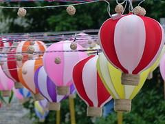Lanterns (Toats Master) Tags: china yangshuo countryside food mandarin oranges lanterns