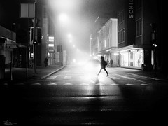 step into a new year (René Mollet) Tags: newyear happy night nightshot snow snowfall blackandwhite bw backlight crossroad street streetphotography shadow silhouette streetart streetphotographiebw step renémollet urban urbanstreet urbanlife aarau photo18