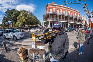2/365 - Street Musician in NOLA