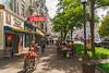 Sidewalk Café (fotofrysk) Tags: dreifaltigkeitsgasseview wheelchair pedestrians sidewalkcafé trees easterneuropetrip salzburg austria oesterreich sigma1750mmf28exdcoxhsm nikond7100 201709277528
