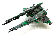 'Jericho' AR-12 Vic Viper (DW Studios - MI) Tags: lego space moc spaceship spacecraft fightercraft fighter starfighter vic viper commission