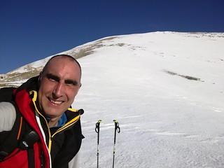5/1/18 - Solitaria invernale, anello Monte di Valle Caprara (1998 m), PNALM, Pescasseroli (AQ)