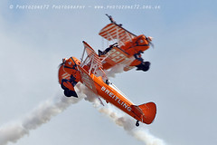 3444 Wingwalkers (photozone72) Tags: eastbourne airshows aircraft airshow aviation breitlingwingwalkers breitling wingwalkers boeing stearman biplane canon canon7dmk2 canon100400f4556lii 7dmk2