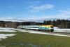 Bodo bei Riedles (Dennis Kraus) Tags: alex alx 84139 länderbahn dlb allgäu riedles günzach aitrang bodo werbelok er 20 er20 er20013 herkules siemens