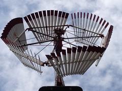 Metallic Sky  ... #7DWF  #HWW (Mr. Happy Face - Peace :)) Tags: metallic sky power farming gardening art2018 windmill windmillwednesday hww