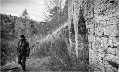Skears Lime Kilns . (wayman2011) Tags: lightroomfujifilmxpro1fujifilmxf18mmf2 wayman2011 bwlandscapes mono rural people oldbuildings photographer pennines dales teesdale middletoninteesdale countydurham uk