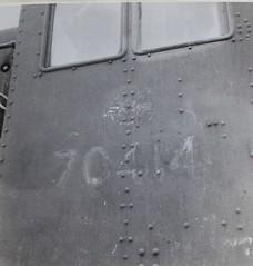 Israel Railways - Haifa-Kishon Depot, 04 February 1959 - ISR (ex-War Department) Class 8F 2-8-0 steam locomotive Nr. 70414 (Beyer Peacock Locomotive Works, Manchester-Gorton 6994 / 1940) (HISTORICAL RAILWAY IMAGES) Tags: train steam locomotive 8f israel railways bp 70414 beyerpeacock lms wd 280 קטר קיטור רכבת ישראל haifa