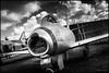 Mikoyan-Guryevich MiG 21 (G. Postlethwaite esq.) Tags: bw mig21fishbed midlandairmuseum mikoyanguryevich sonya7mkii sonyalphadslr soviet ussr airacraft blackandwhite clouds coldwar mirrorless monochrome photoborder planes sky