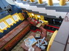 LEGO Ideas Tall Ship (sebeus) Tags: lego ideas pirate ship pirates interior captains quarters cabin