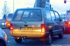 Renault Espace 1985 (XBXG) Tags: 8284mm32 renault espace 1985 renaultespace mpv amsterdamsevaart haarlem nederland holland netherlands paysbas vintage old classic french car auto automobile voiture ancienne française vehicle outdoor