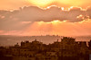 Sunset Cross Israel (barak.shacked) Tags: view luban sunset buildings orangesky עננים vilage clouds שמש samaria urban כפר לובאן sky sunbehindclouds sun village landscape שקיעה