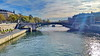 45 Paris en Octobre 2017 - La Seine au Pont d'Arcole (paspog) Tags: paris france octobre october oktober pontdarcole seine river rivière fleuve fluss pont brücke bridge