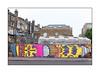 Sweet Toof & Rolf Carl Werner, Cut And Run, BSMT Space, East London, England. (Joseph O'Malley64) Tags: sweettoof rolfcarlwerner bsmtspace graffiti streetart urbanart publicart freeart eastlondon eastend london england uk britain british greatbritain art artist artistry artwork mural muralists wallmural wall walls render victorianbuildings victorianstructures brickwork bricksmortar cement pointing slateroofs roofingslates windows sashwindows satellitedishes tvaerials redundantanaloguetvaerials trees conservatory chimneys chimneypots tarmac stopcock accesscovers granitekerbing redroute nostoppingatanytime gardenheater airconditioner flues urban urbanlandscape aerosol cans spray paint fujix x100t accuracyprecision incline gradient
