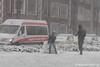 Sneeuwpop (Marjon van der Vegt) Tags: sneeuwdenhaag koud sneeuwval sleeen sneeuwpop