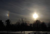 Wishing you a Merry Christmas (Oly_m) Tags: p1010286w christmas nature winter sundog sky sun lumix tree trees