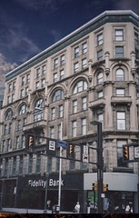 Scranton Pennsylvania - HOTEL JERMYN - Historic Building (Onasill ~ Bill Badzo) Tags: lackawannacounty landmark nrhp downtown jermyn hotel jermynapartments readaptive use onasill historic building scranton pa pennsylvania coal trains depot 1894 architecture john duckworth stone steel old vintage photo restaurant nightclub omar room manhattan bar motor inn sky clouds