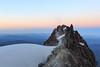 Mt. Hood Sunrise (Steve Lerner) Tags: mthood mtjefferson sunrise alpinestart mountainclimbing mountains oregon hiking hike crampons 1635mmf28lii canon5dmarkiii oldchute