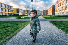 Dawken walking // Amsterdam Zuidoost (Merlijn Hoek) Tags: amsterdam amsterdammer merlijnhoek fotografie fotografiemerlijnhoek kid boy littleboy kleuter peuter outdoor walking walk dawken dawkenlatumete venserpolder studentenwoningen