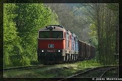 Kralupy nad Vltavou (CZ) (Joeri.Mertens) Tags: czech diesel train rail railway railroad
