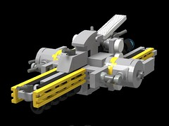 Sarahbae Class Capital Ship (The Hydromancer) Tags: mobile frame zero intercept orbit lego ship micro space moc carrier gundam