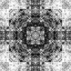 1325077803 (michaelpeditto) Tags: art symmetry carpet tile design geometry computer generated black white pattern
