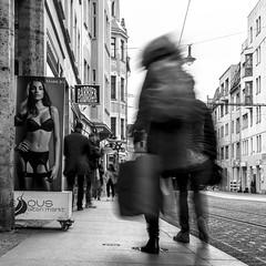 Schmeerstraße (ZaglFoto.de) Tags: de deutschland halle hallesaale bnw bnwhallesaale bnwstreet bnwstreetphoto bnwstreetphotographer bnwstreetphotography strasenfoto strasenfotograf strasenfotografie street streetphoto streetphotographer streetphotography streetsofhalle
