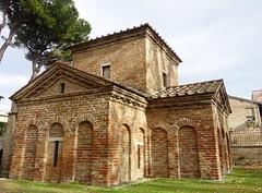 Mausoleum of Galla Placidia  DSC01318 (Chris Belsten) Tags: byzantine oratory iconography mausoleum westernromanempire earlychristianart byzantineart ravenna worldheritage romanempire mosaic mosaics gallaplacidia unesco church