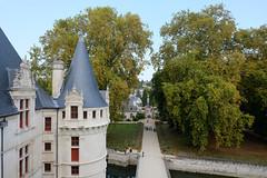 Château d'Azay-le-Rideau (sottolestelle) Tags: châteauxdelaloire loirevalley châteaux château valléedelaloire châteaudazaylerideau azaylerideau