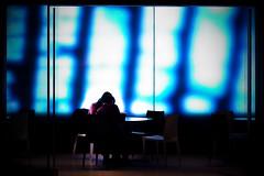 Star platinum the world over heaven (明遊快) Tags: people blue table chair window screen osaka japan lover man woman light white floor dream urban shop beauty japanese 梅田 大阪 日本 スクリーン