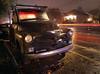 Long-Term Parking (RZ68) Tags: chevy chevrolet truck rain night wet long exposure light trails lg g6 old rusty classic street road house nieghborhood santa rosa california