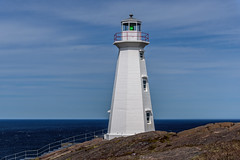 The New Lighthouse (Brett of Binnshire) Tags: lighthouse water highdynamicrange weather capespear historicalsite ocean manipulations locationrecorded lrhdr lightroomhdr architecture canada hdr tower clouds newfoundland