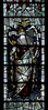 Church Eaton, Staffordshire, St. Editha, north aisle, east window, top, antecedents, detail (groenling) Tags: churcheaton staffordshire staffs england britain greatbritain gb uk steditha window glass stainedglass northaisle kempe king david harp mmiia