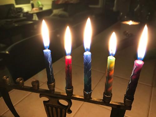 Night Four #happyhanukkah