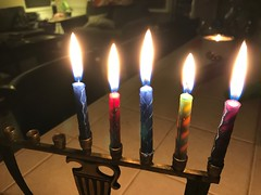 Night Four #happyhanukkah