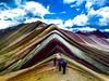 Rainbow Mountain (SalkantayTrekMachu) Tags: travel travelphotography treking travels trek travelpic trekkinginperu travelinperu