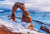 Delicate in the Snow (ashergrey) Tags: utah arches national park delicate arch winter snow moab desert sunset cold
