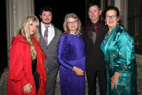 Vera Stromsted, Zeb Redden, Sheri Redden, Kalif Redden and Griff Samples